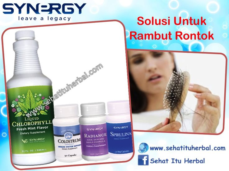 Solusi Untuk Rambut Rontok - Sehat Itu Herbal