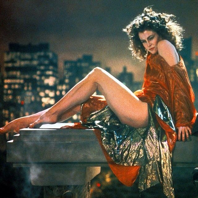 Sigourney Weaver in Ghostbusters.
