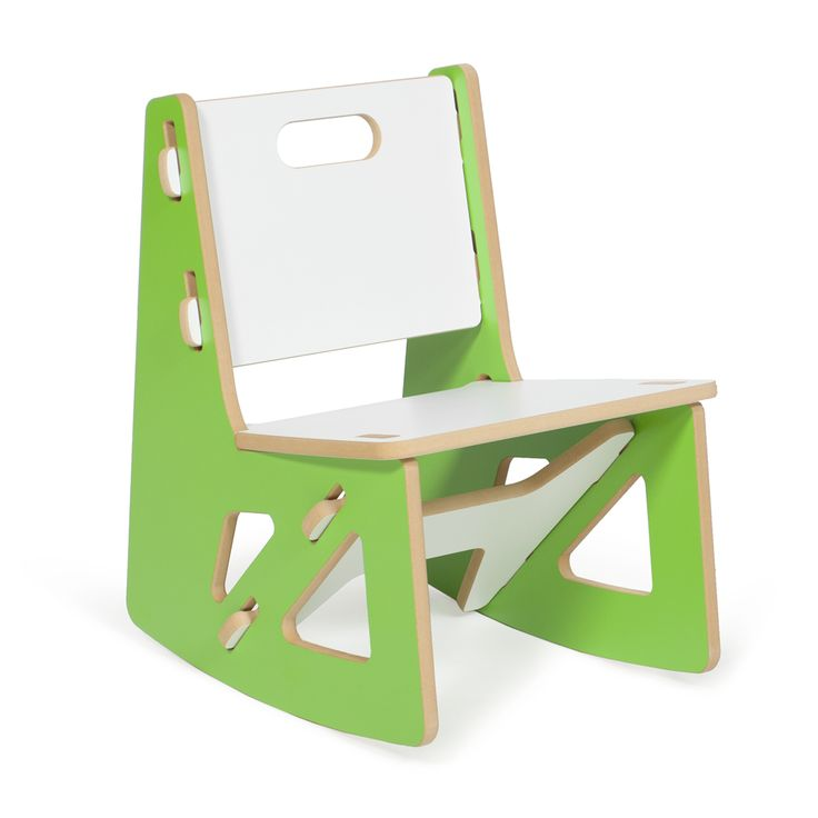 Sprout Kids Modern Green Rocking Chair. This Little Chair Is Sturdy, Easy  To Store