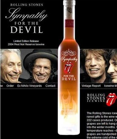 Rolling Stones Pinot Noir Reserve Icewine