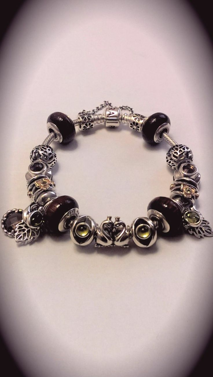 Pandora bracelet dillards - Pandora Jewelry Pandora Bracelets Bracelet Designs Wooden Beads I Was Jewels