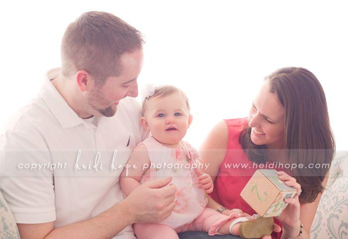 © Heidi Hope Photography #photographer #photography #portrait #baby#1year #family