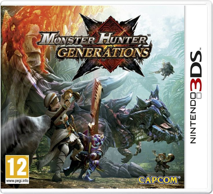 Monster Hunter Generations (Nintendo 3DS): Amazon.co.uk: PC & Video Games