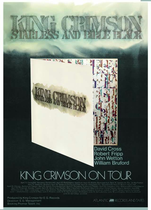 King Crimson Tour Poster