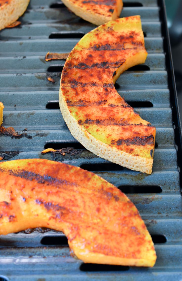 Sweet + Spicy Grilled Cantaloupe Recipe | What Fruit Can you Grill? | Luci's Morsels :: LA Food Blog