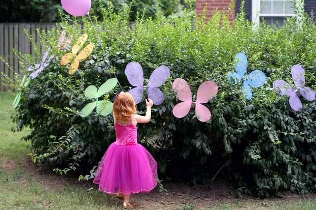 "Photo 8 of 47: Enchanted Fairy Garden Party / Birthday ""Connelly turns 4!"" 