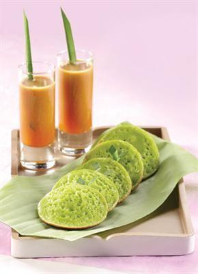 Kue Serabi (Serabi Cake) #Indonesian recipes #Indonesian cuisine #Asian recipes #Asian cuisine http://indostyles.com/