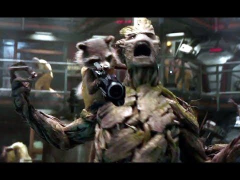Guardians of the Galaxy Official Trailer (2014) Marvel HD, Vin Diesel  It looks really funny and not silly as I thought it would be :):):) plus it has Lee Pace and Karen Gillian in it which makes it a billion times better :):):):)