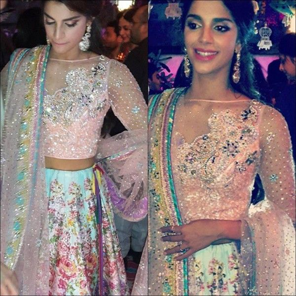 Sanam Saeed at her Mehndi  Love her outfit, she looks gorgeous!