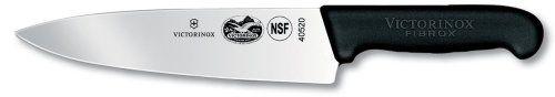 Victorinox Swiss Army 8-Inch Fibrox Straight Edge Chef's Knife Victorinox