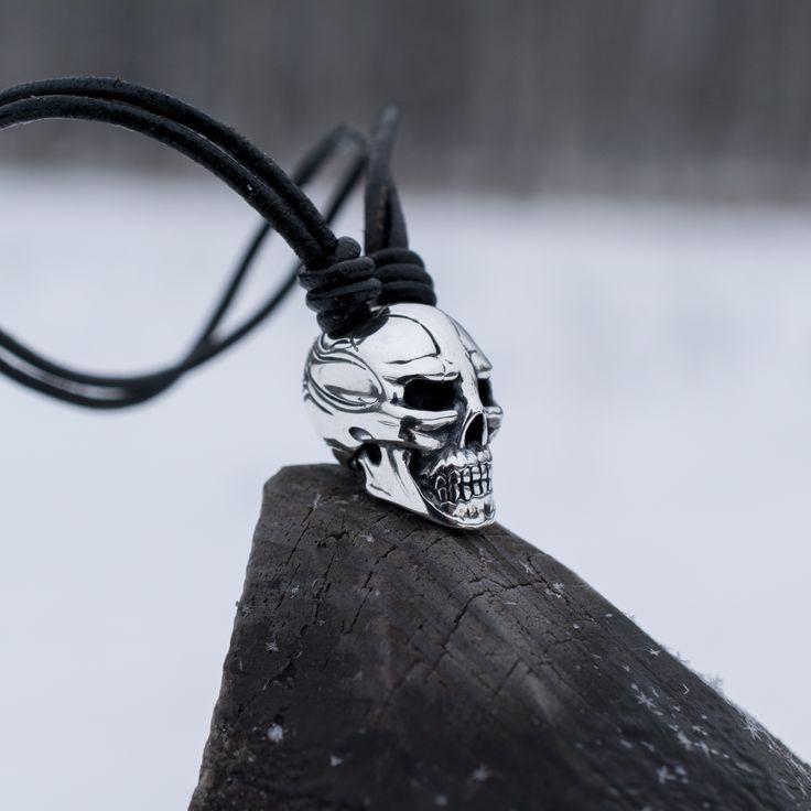 Diabolus Skull - my handmade silver jewelry, selling on www.ElionDesign.etsy.com