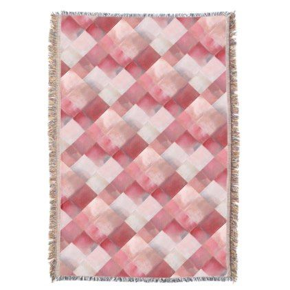 Highlights Diamond Grid Throw - original gifts diy cyo customize