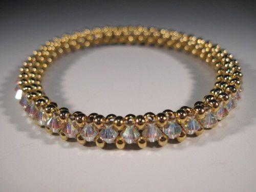 Stacking Bangle Bracelet Lovely! Just ordered kit from http://www.beadmylove.com