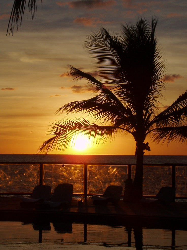 Australië, zonsondergang