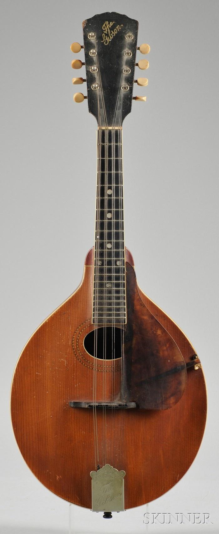 Gibson A1, 1917 Mandolin