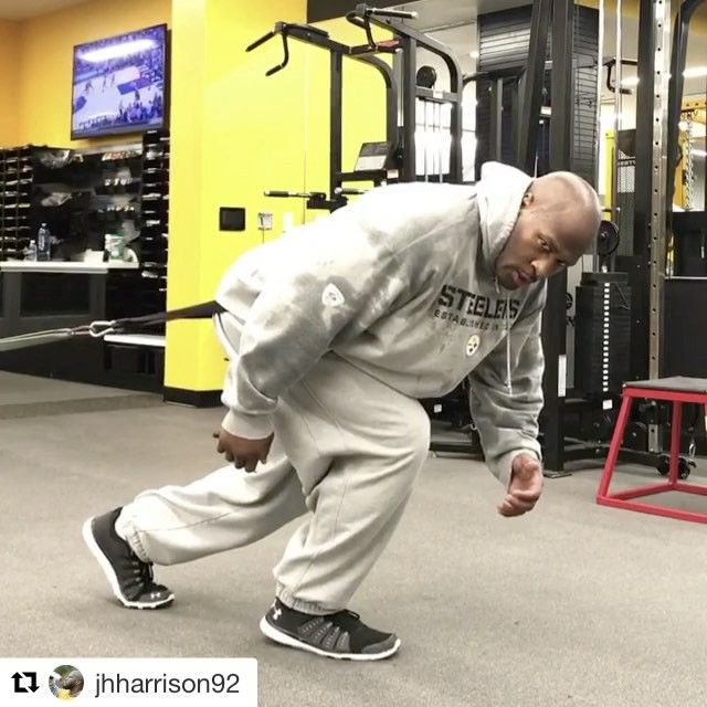 38-year-old James Harrison apparently went straight from the airport to the Steelers training facility, posting this at 6 a.m. (via @jhharrison92)