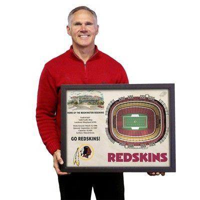 NFL Washington Redskins StadiumViews Wall Art - FedExField