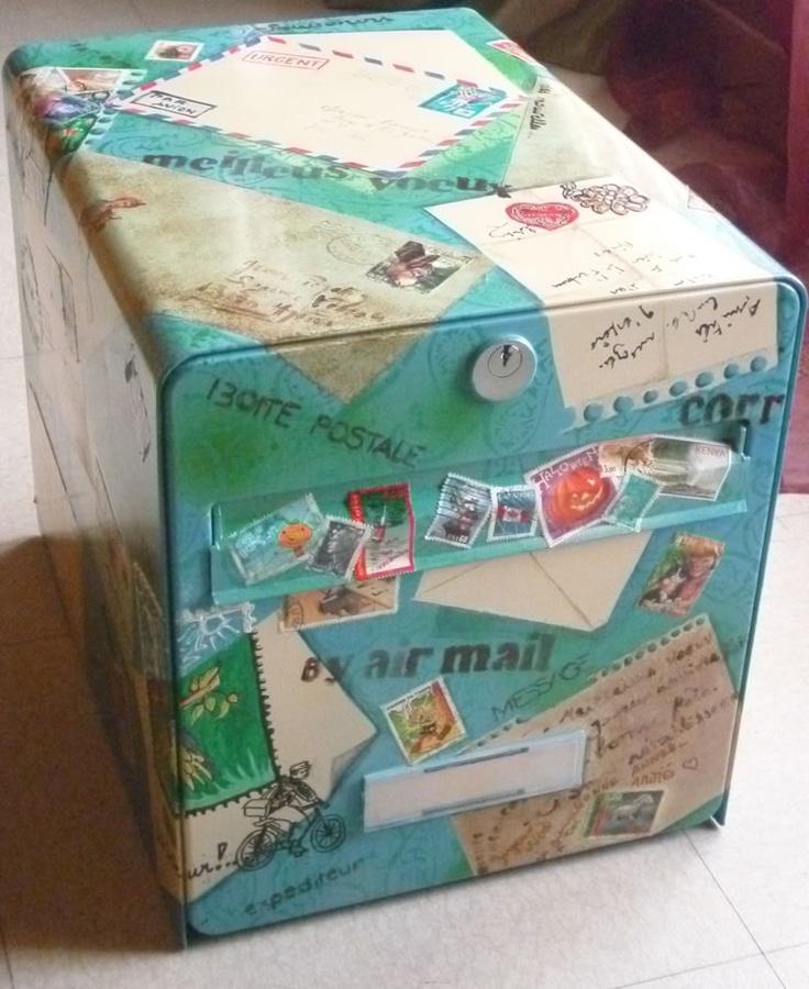décorer la boite  aux  lettres