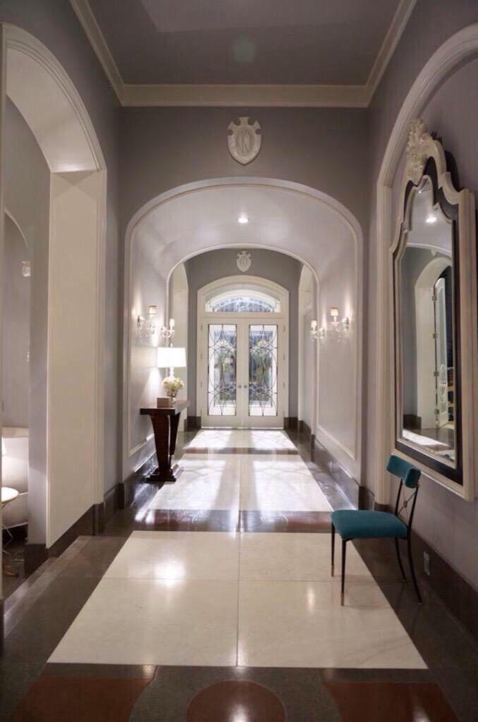 Résidence personnes agées larchitecture dintérieur aménagement intérieur architecture néo classique construction de maisons couloirs décoration de