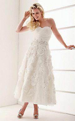 HEIDA - Vestido de Noiva em Organza – BRL R$ 430,23