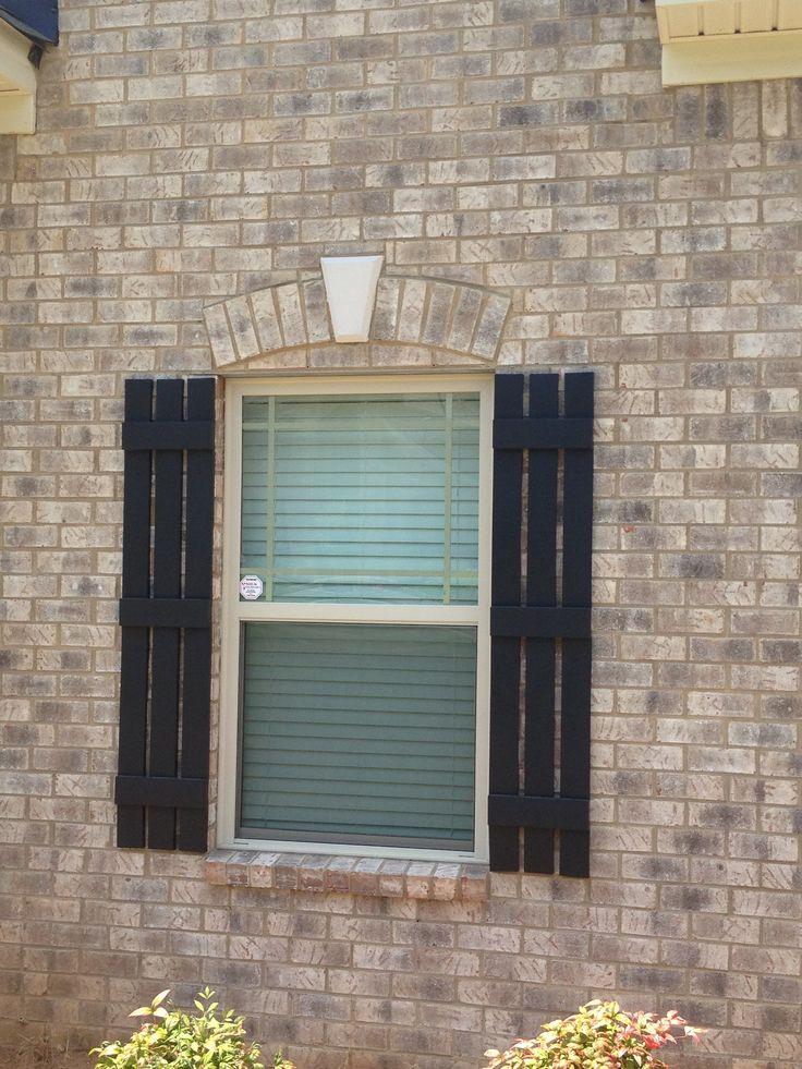 Shutters Exterior Brick House