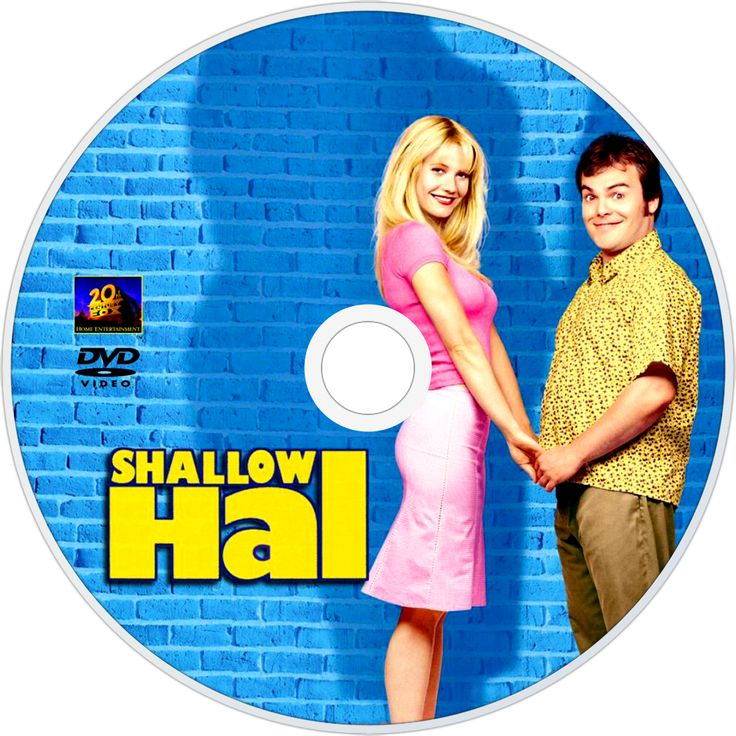 """••Shallow Hal•• 2001-11-09 Fox • dvd 1 • stars: Jack Black as Hal + Gwyneth Paltrow as Rosemary • dir/prod/writ: Peter & Robert Farrelly •Tagline: """"True Love Is Worth The Weight!"""" • storyline: A shallow man falls in love with a 300 pound woman because of her """"inner beauty"""". • wiki: https://en.wikipedia.org/wiki/Shallow_Hal • imdb: http://www.imdb.com/title/tt0256380/?ref_=nv_sr_1 •  (1000×1000px! ; )"""