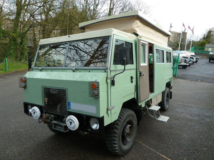 Land Rover Camping | Land Rover 101 F/C Camper