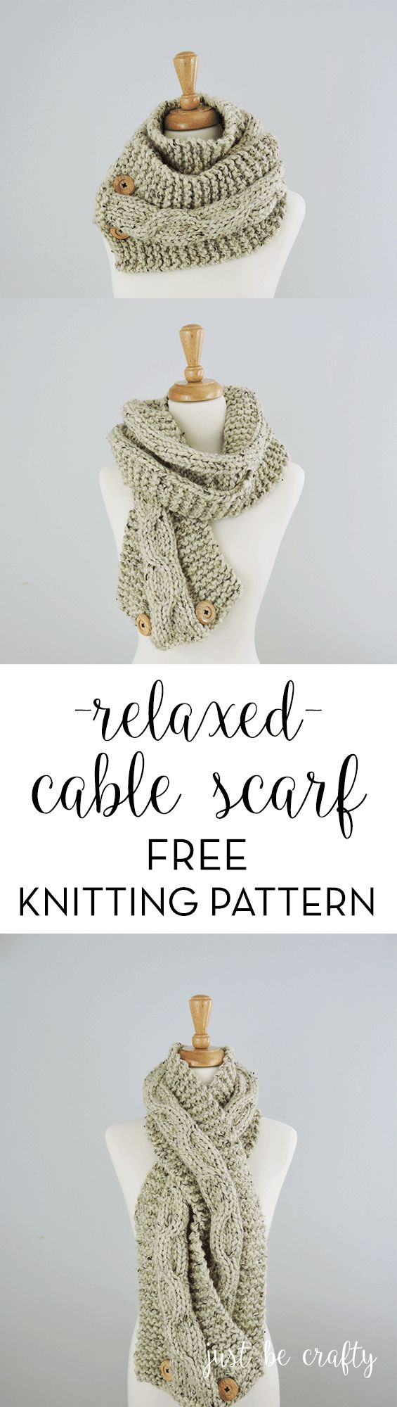 365 best Knit Scarf Patterns images on Pinterest