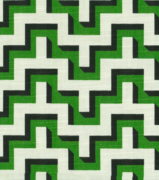 Hgtv Home Upholstery Fabric Jigsaw Malachite
