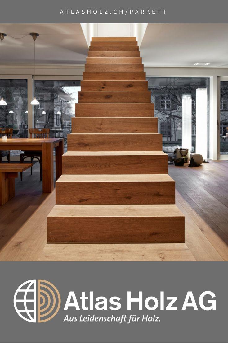 Treppentritte Hergestellt Aus Fürstlichen Schlossdielen Eiche, Farbton 103,  Gebürstet