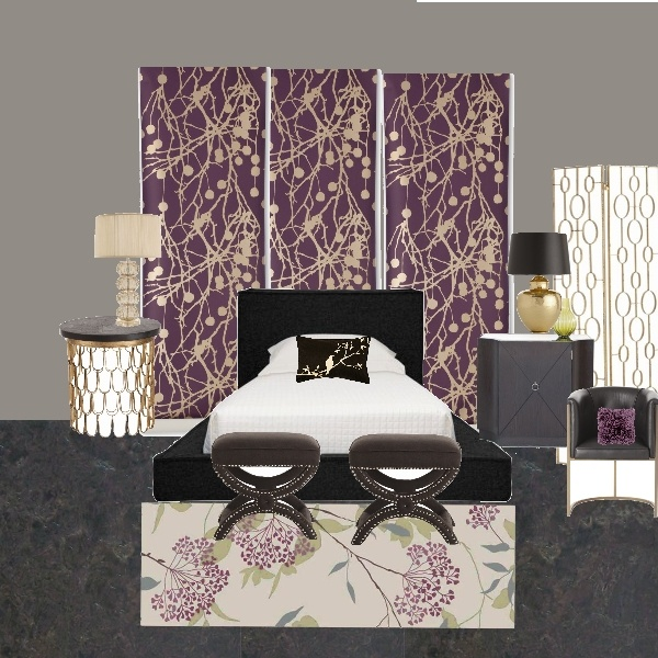 Mink Bedroom By Concept Candie Interiors E Design Mood Board