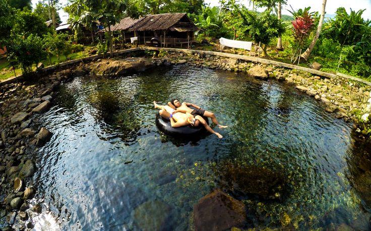 Mata Air Citaman Sensasi Air Sedingin Es di Banten - Banten