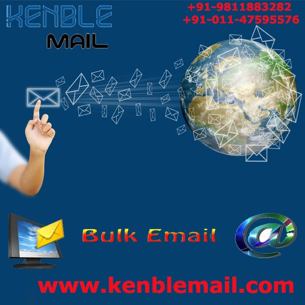 Kenble Mail is provides best bulk email marketing, bulk email services and mass mailing Service at reasonable price in Delhi NCR