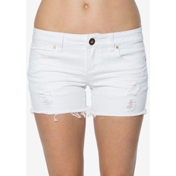 1000  ideas about White Denim Shorts on Pinterest | White shorts ...