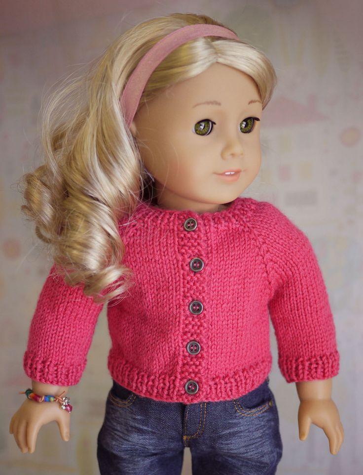 Free American Girl Cardigan Pattern