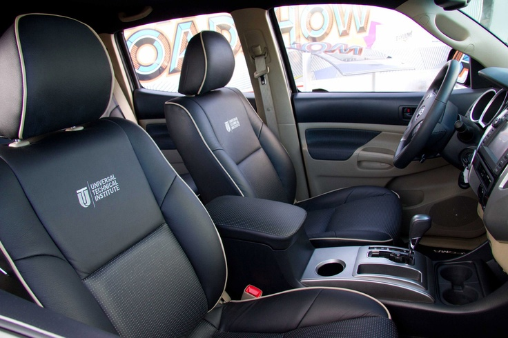 Check Out The Custom Interior In The 2013 Uti Tjin Edition Toyota Tacoma Enter For Your