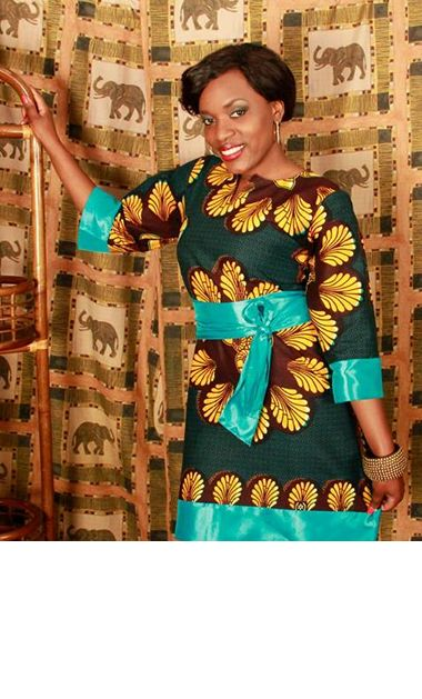 Colourful African Dress Design
