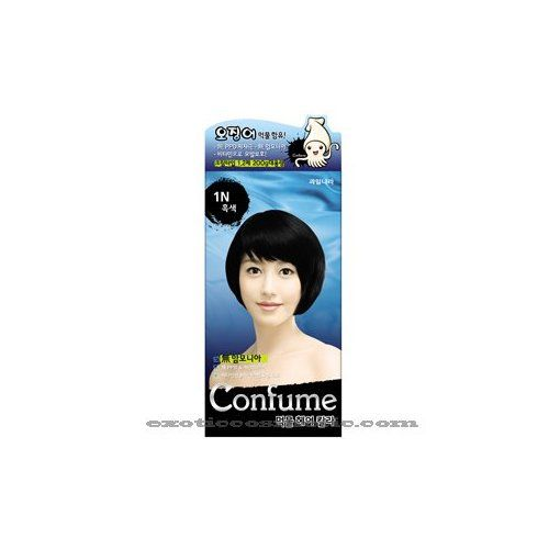 Confume Squid Ink Hair Color 1N - Black (No Ammonia) * Want to know more, click on the image. #hairnourishing