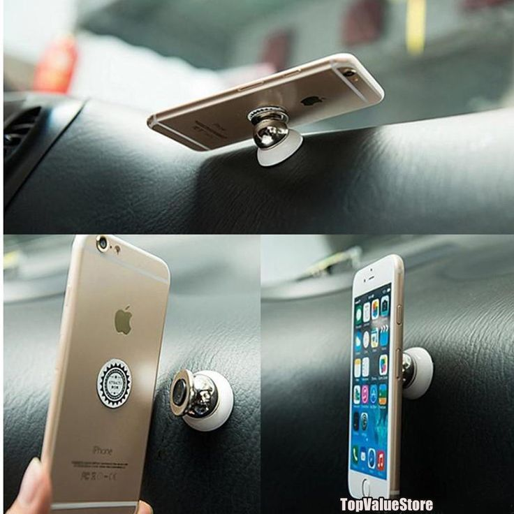 Magnetic Car Cell Phone Holder Mount Dash 360° Rotating for iPhone, Samsung, GPS in Cell Phones & Accessories, Cell Phone Accessories, Mounts & Holders | eBay