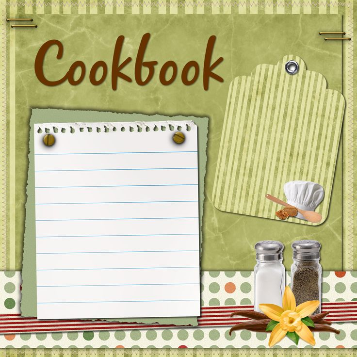 Digital Scrapbooking Cookbook/Recipe Freebies and Try-it Kit