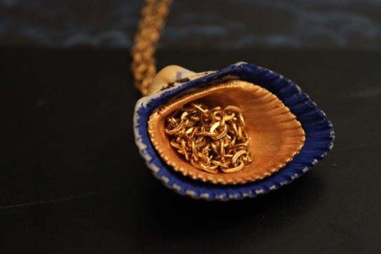 seashell bling :)