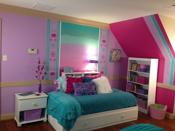14 Year Room Ideas: Making The Most Of Space With A Twin Bed--7 Year Old