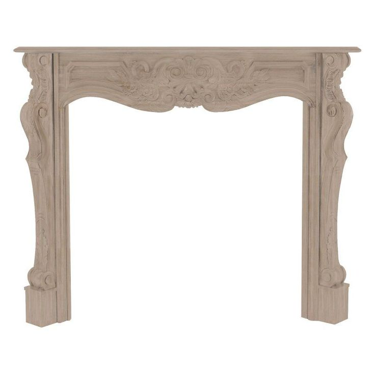 Pearl Mantels Deauville Wood Fireplace Mantel Surround - 134-58
