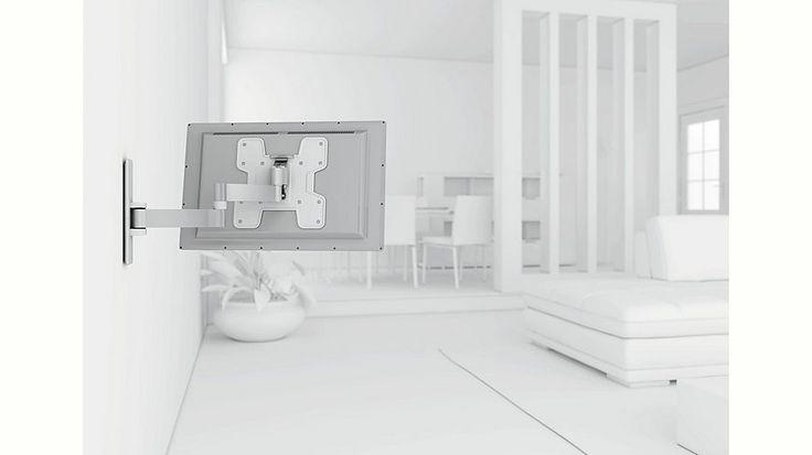 vogel´s® TV-Wandhalterung »WALL 2145« schwenkbar, für 48-94 cm (19-37 Zoll) Fernseher, VESA 200x200 Jetzt bestellen unter: https://moebel.ladendirekt.de/wohnzimmer/tv-hifi-moebel/tv-halterungen/?uid=f3300d0b-3c96-5bca-b39d-e32861b4bc05&utm_source=pinterest&utm_medium=pin&utm_campaign=boards #tvhalterungen #wohnzimmer #tvhifimoebel
