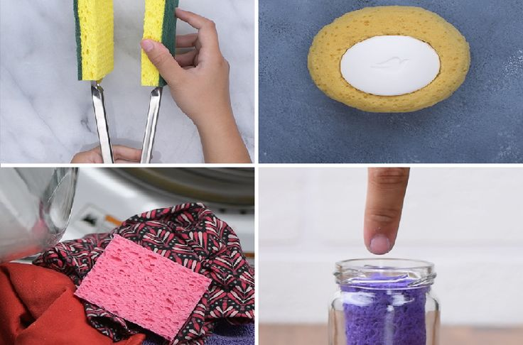 sponge tips that are brilliant. By Real Moms dot com Where Parents Get Real