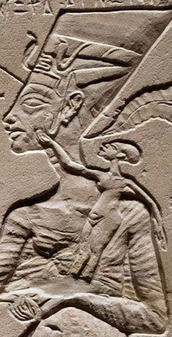 Nefertiti ruled alongside Akhenated during the 18th dynasty (1550-1292 BC)