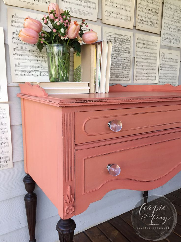 Mini Buffet Painted By Amanda Of Ferpie And Fray In A Strings From Miss Mustard Seed Milk Paint S Dresser