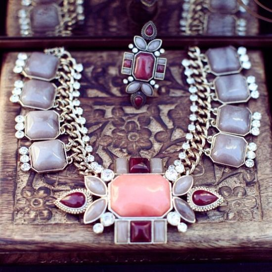 Some of my favourite new pieces for the SS13 Collection, Midnight's Sunrise, available in stores and online,