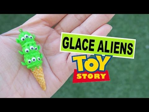 Aliens Toys Story⎪Ice Cream polymer clay charm tutorial