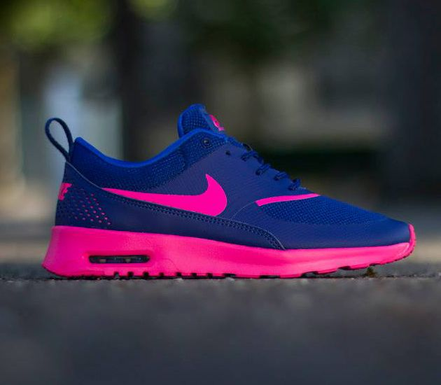 Air Max Thea Pink And Blue